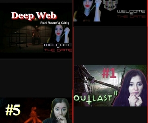 deep web, outlast 2, and forset image