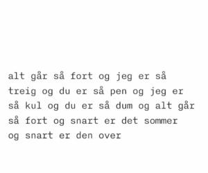 norsk, poem, and poesí image