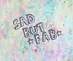wallpaper, sad, and fab image