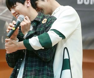 youngbin and rowoon image