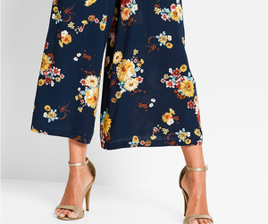 culottes, flower, and look image