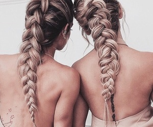 photo, bffs, and braids image
