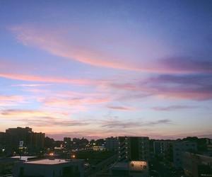 city, like, and sky image
