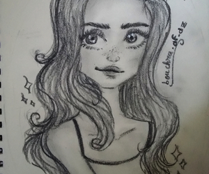art, draw, and fille image