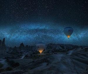sky, stars, and beautiful image