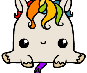 color and unicorn image