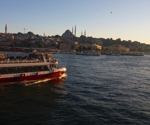blue, istanbul, and lifestyle image
