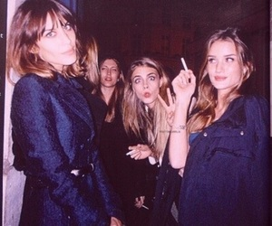 model, alexa chung, and cara delevingne image