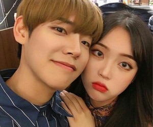 couple, ulzzang, and asia image