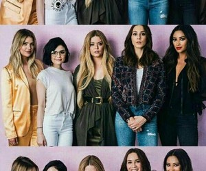 pretty little liars and girl image