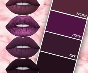 lipstick, beautiful, and beauty image