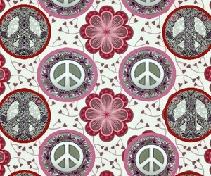 peace, patterns, and wallpaper image