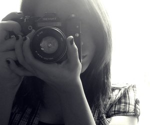 b&w, zenit, and black and white image