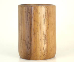 etsy, desk accessory, and wooden cup image