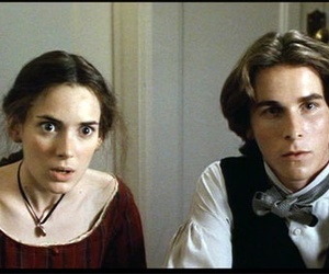 christian bale, little women, and winona ryder image