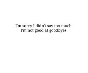 boyfriend, feelings, and goodbye image