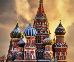 cathedral and russia image