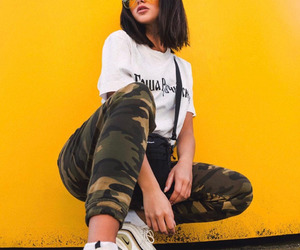 girls, sneakers, and shorthair image