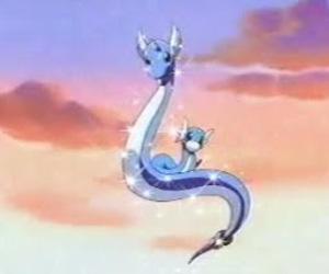 kawaii, dragonair, and dratini image