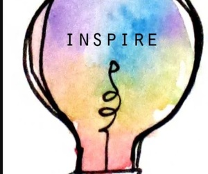 inspire, inspiration, and colors image