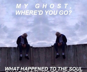ghost, Lyrics, and quote image