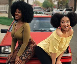 Afro, black woman, and gorgeous image