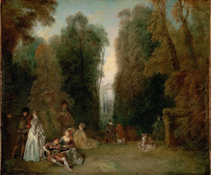 18th century, painting, and art image