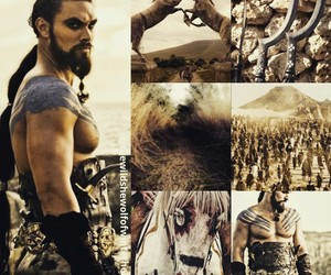 warrior, game of thrones, and khal drogo image