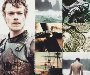 game of thrones and theon greyjoy image