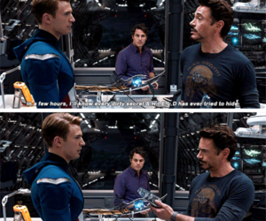 Avengers, captain america, and funny image