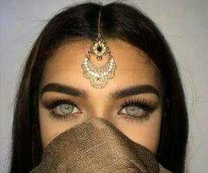 beauty, book, and eyes image