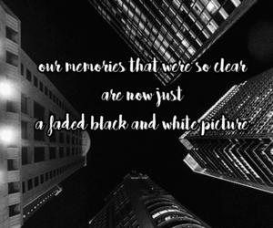 black and white, taeyeon, and Lyrics image