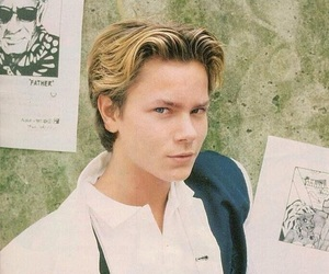 80s, actor, and river phoenix image
