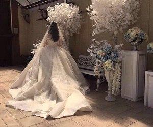 amazing, bride, and white image