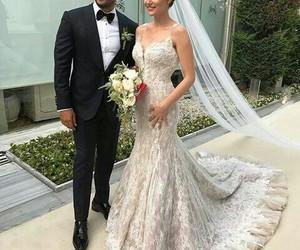 wedding, couple, and fahriye evcen image