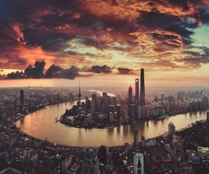 adventure, shanghai, and travel image