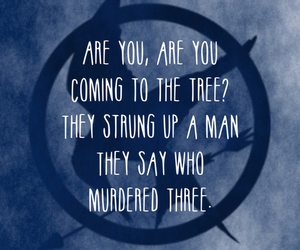 the hunger games, song, and Jennifer Lawrence image