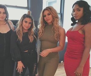 band, girl, and fifthharmony image