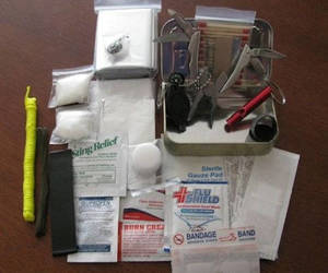 etsy, hiking, and survival kit image