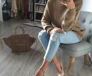 bag, casual, and closet image