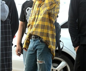 airport, park jimin, and bts image