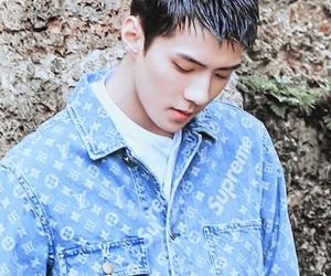 exo, sehun, and background image