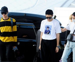 airport, jin, and hoseok image