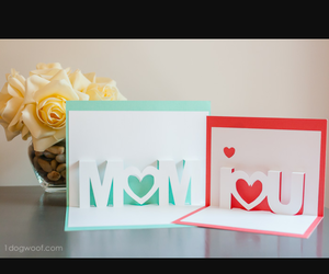 diy, Letter, and mom image