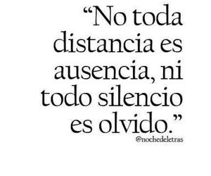 frases, olvido, and distancia image