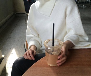 aesthetic and coffee image