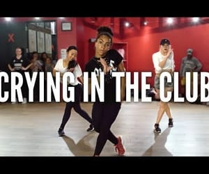 choreography, camila cabello, and crying in the club image