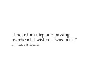 airplane, fly, and quotes image