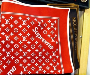 Louis Vuitton, luxury, and supreme image