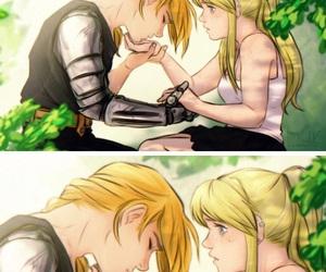 edwin, anime couples, and fullmetal alchemist image